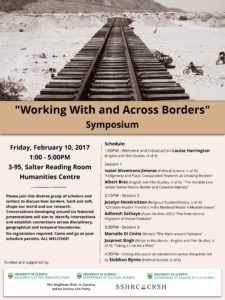 Working with and across borders symposium
